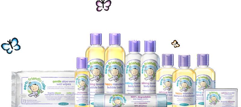 Earth Friendly Baby – parasta ihonhoitoa lapsellesi!
